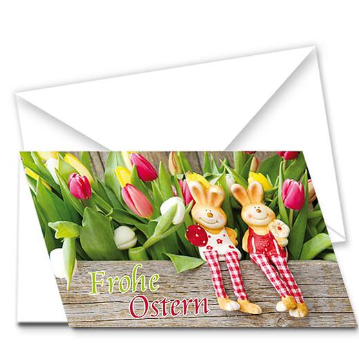 Motivkarte Tulpenbeet