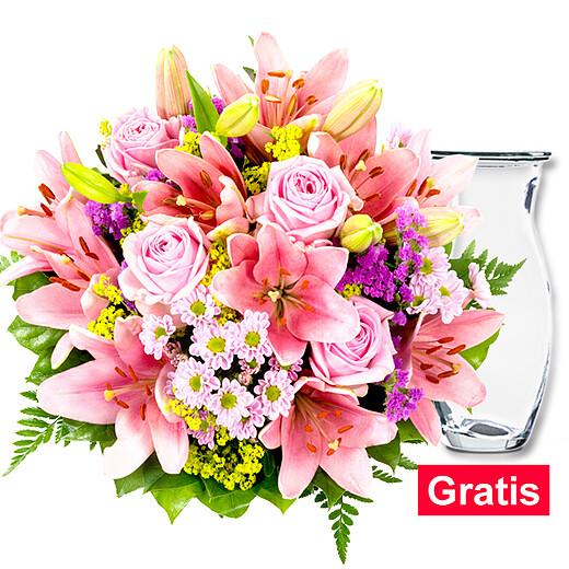 Blumenstrauß Lilienzauber